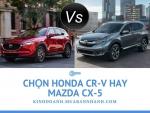Ô tô Honda CR-V giảm giá cực sốc cạnh trạnh với Mazda CX-5