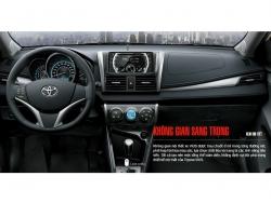 Đánh giá nội thất Toyota Vios 2016