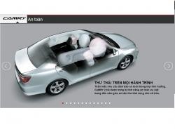 Đánh giá mức độ an toàn xe Toyota Camry 2016