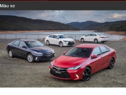 Đánh giá màu xe Toyota Camry 2016