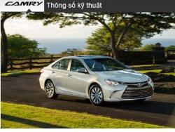 Đánh giá thông số kỹ thuật xe Toyota Camry 2016