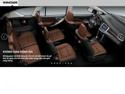 Đánh giá nội thất Toyota Innova 2016