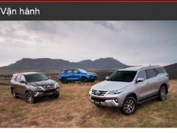 Đánh giá khả năng vận hành Toyota Fortuner 2016