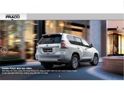 Đánh giá ngoại thất Toyota Land Cruiser Prado 2016