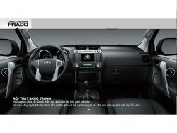Đánh giá nội thất Toyota Land Cruiser Prado 2016