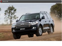 Đánh giá thông số kỹ thuật xe Toyota Land Cruiser 2016