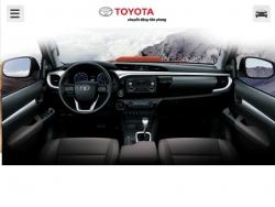 Đánh giá nội thất Toyota Hilux 2016