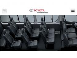 Đánh giá nội thất Toyota Hiace 2016