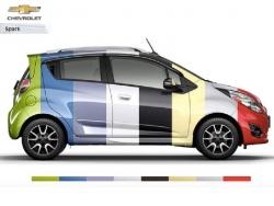 Đánh giá màu xe Chevrolet Spark 2016