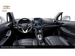 Đánh giá nội thất Chevrolet Orlando 2016: thiết kế cực kỳ hiện đại và sang trọng!