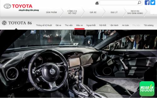 Trang bị vận hành tiên tiến của Toyota 86 2017