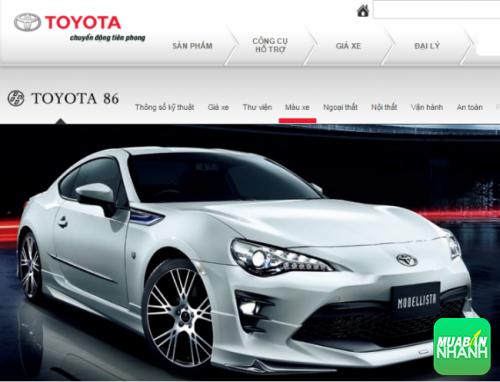 Xe Toyota 86 2017