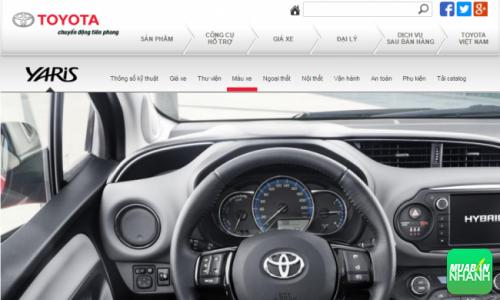 Vô lăng ôtô Toyota Yaris 2016