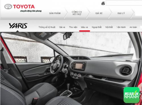 Các trang bị cao cấp trên ôtô Toyota Yaris 2016