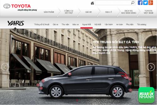 Đánh giá ngoại thất xe Toyota Yaris 2016