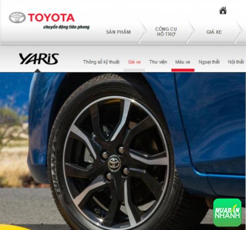 Mâm xe và Lốp xe Toyota Yaris 2016