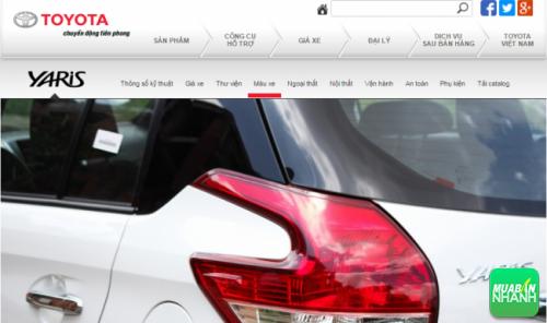 Cụm đèn sau Toyota Yaris 2016