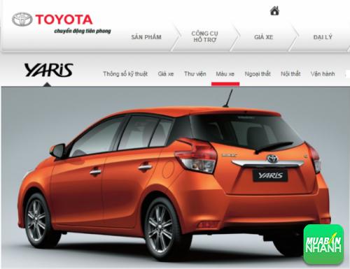 Đuôi xe Toyota Yaris 2016