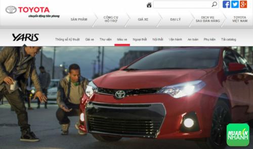 Ngoại thất Toyota Yaris 2016