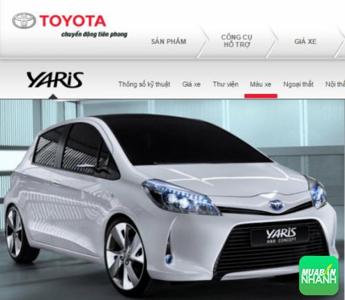 Đầu xe Toyota Yaris 2016
