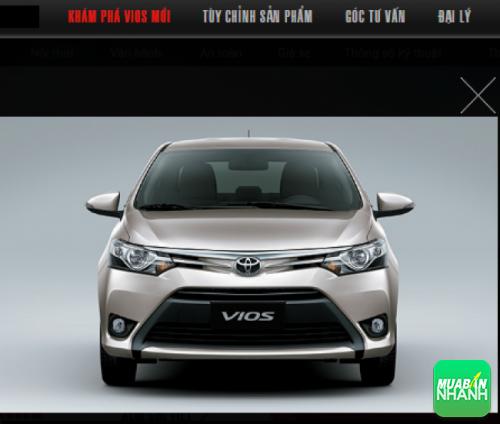 Thiết kế đầu xe Toyota Vios 2016