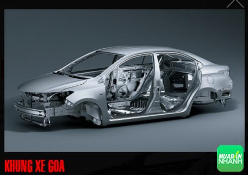 Khung xe GOA Toyota Vios 2016