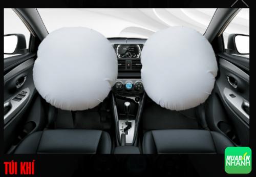 Túi khí Toyota Vios 2016