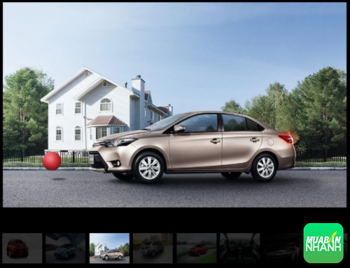 Ngoại thất Toyota Vios 2016: thay đổi bắt mắt, thiết kế hiện đại