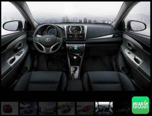 Nội thất Toyota Vios 2016 vượt cấp, sang trọng từng đường nét!