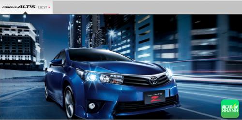 Đánh giá thông số kỹ thuật xe Toyota Corolla Altis 2017