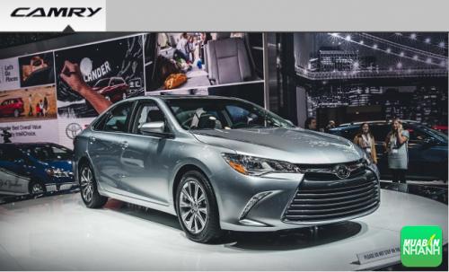 Đánh giá xe ôtô Toyota Camry 2016
