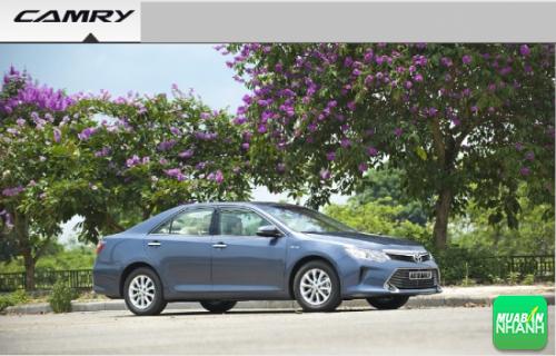 Thanh lịch, cuốn hút: điểm cộng cho thiết kế Toyota Camry 2016