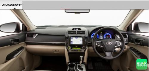 Cạnh tranh trực diện: Nội thất Toyota Camry 2016 làm bá chủ!