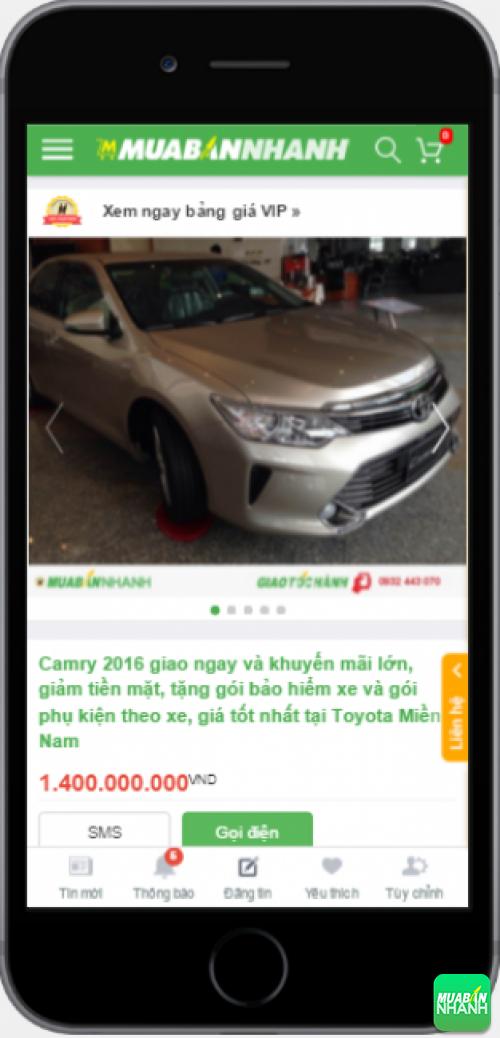 Đánh giá Toyota Camry 2016 từ người dùng trên Mạng xã hội MuaBanNhanh