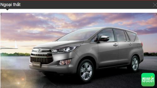 Đánh giá ngoại thất Toyota Innova 2016