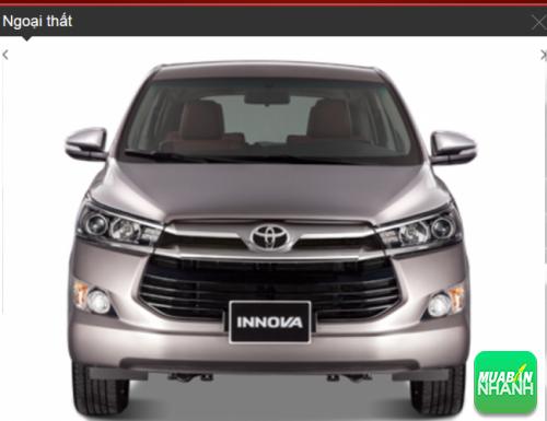 Đầu xe Toyota Innova 2016