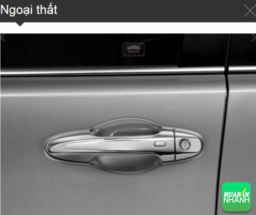 Tay nắm cửa Toyota Innova 2016