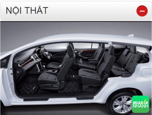 Thông số kỹ thuật nội thất Toyota Innova 2016