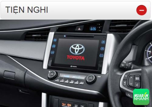 Thông số kỹ thuật trang bị tiện nghi Toyota Innova 2016