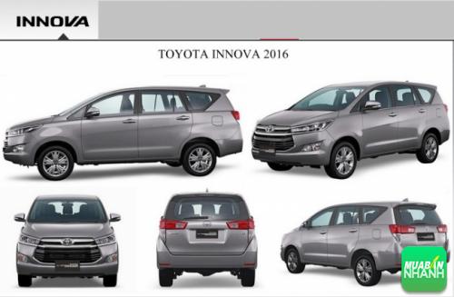 Xe Toyota Innova 2016: thiết kế dẫn đầu phân khúc MPV