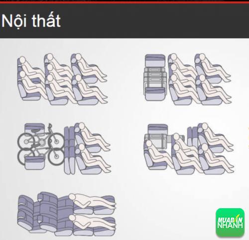 Cách xếp ghế linh hoạt có thể điều chỉnh