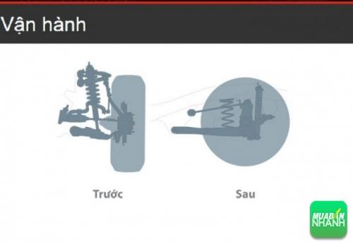 Hệ thống treo trước và sau