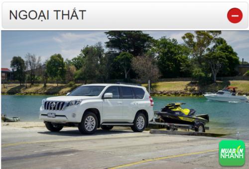 Thông số kỹ thuật ngoại thất Toyota Land Cruiser Prado 2016