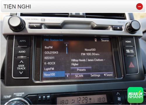 Thông số kỹ thuật trang bị tiện nghi Toyota Land Cruiser Prado 2016