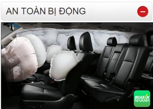 Thông số kỹ thuật an toàn bị động Toyota Land Cruiser Prado 2016
