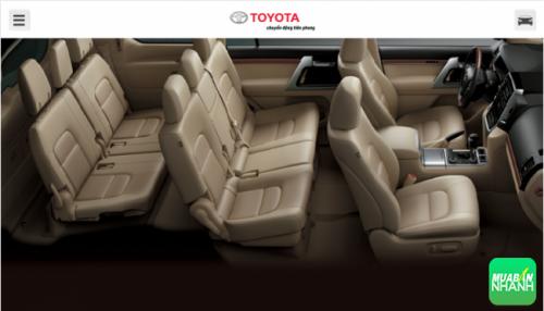 Đánh giá nội thất Toyota Land Cruiser 2016