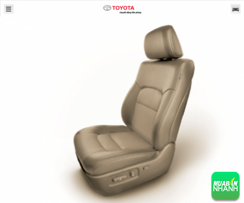 Ghế ngồi Toyota Land Cruiser 2016