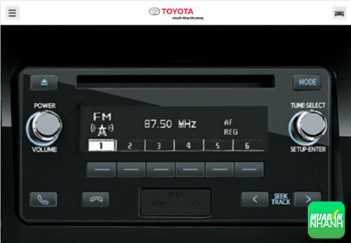 Hệ thống âm thanh Land Cruiser 2016