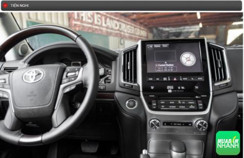 Thông số kỹ thuật Tiện nghi Toyota Land Cruiser 2016