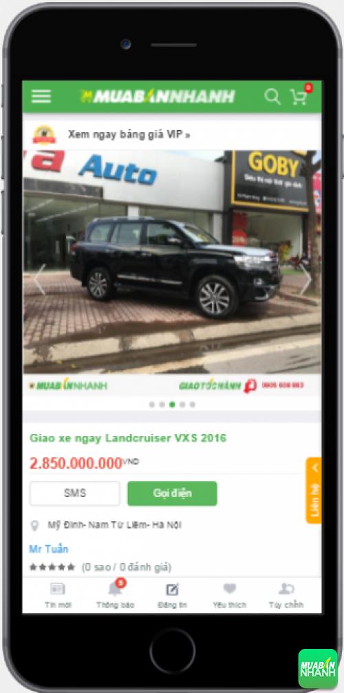 Đánh giá Toyota Land Cruiser 2016 từ người dùng trên Mạng xã hội MuaBanNhanh